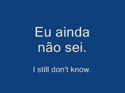 Learn Portuguese Language Phrases - Useful Expressions