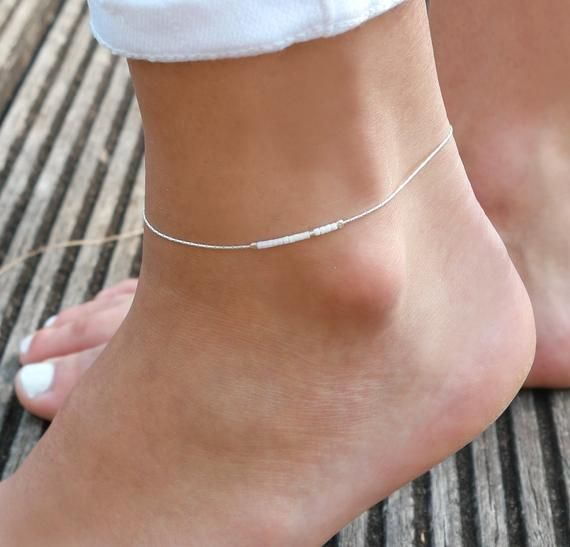 Gift for Her Custom Anklet Women Anklet Set of 2 Beaded Anklets Starfish Anklet Stylish Anklet Anklet Beach Wedding Foot Jewelry