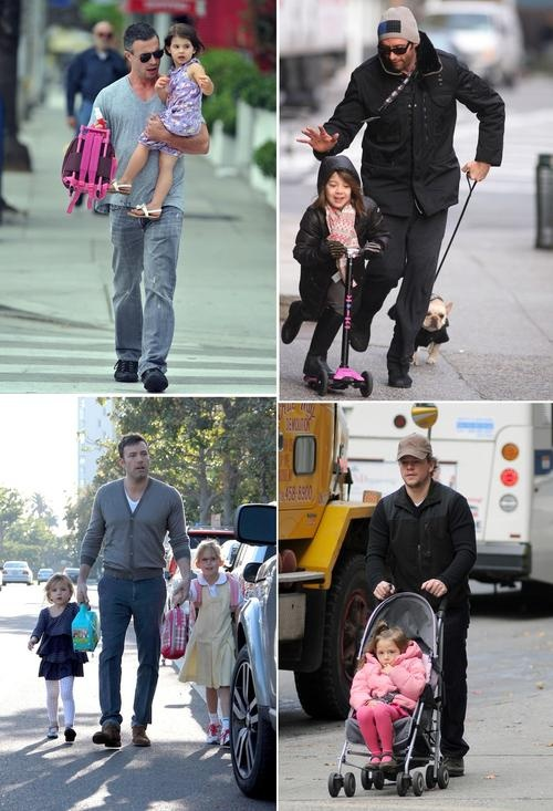5 Celebrity Dads Who Do The School Run