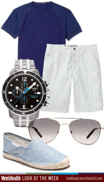 Look of the week, 05.28.12: 052812, Beach Wear, Casualchic, Clothing, Men Accessories, Guys Guide, Men Fashion, Men Health, Fashion District