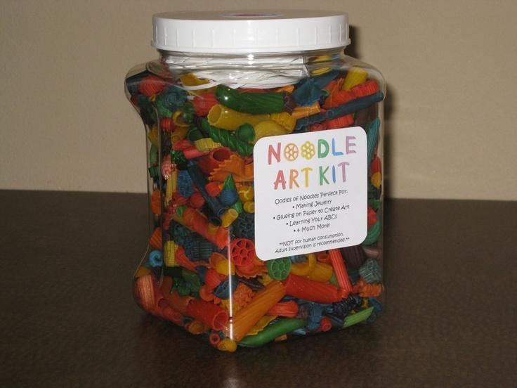 Noodle Art Kit by itsybitsycreation on Etsy