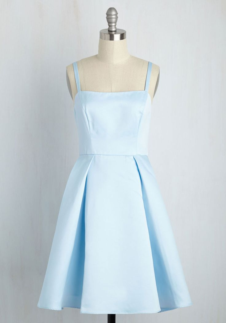 Understated Statement Dress in Ice, #ModCloth