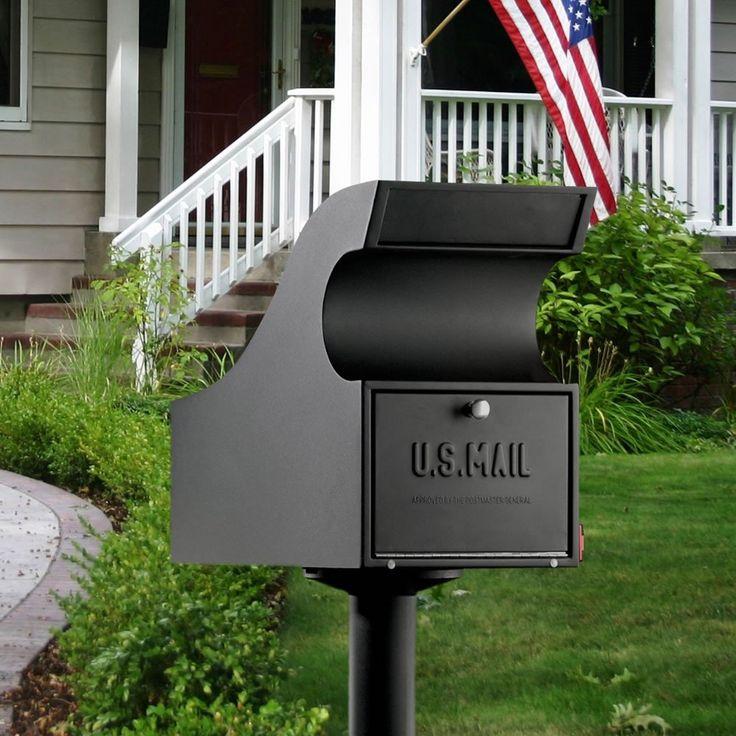 Lockable Mailbox Style