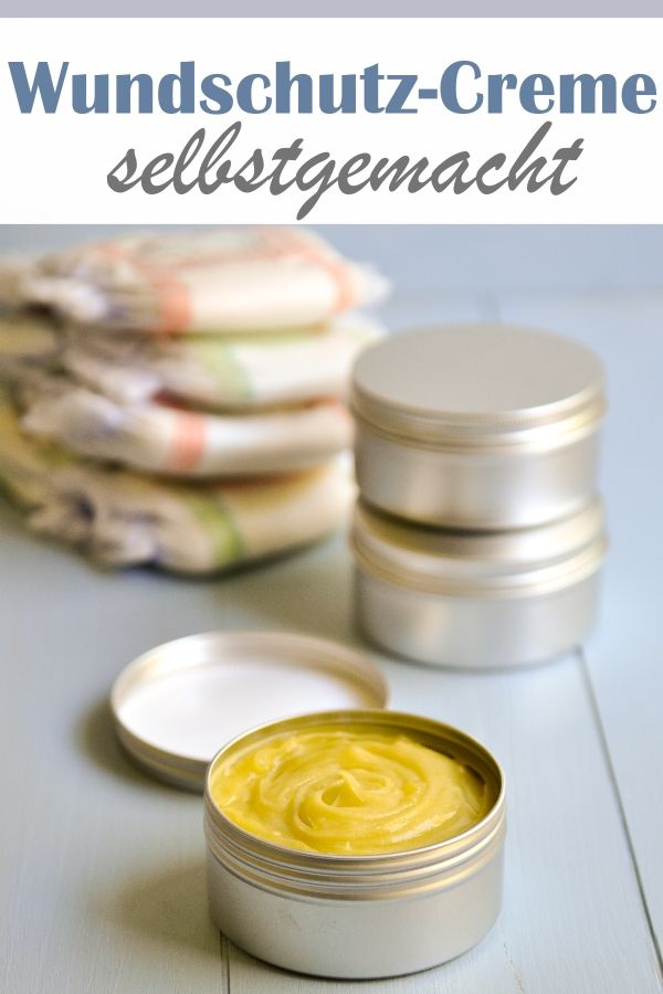 Wundschutz Creme Fur Baby Popos Wundschutzcreme Creme Selber Machen Kosmetik Selber Machen Rezepte