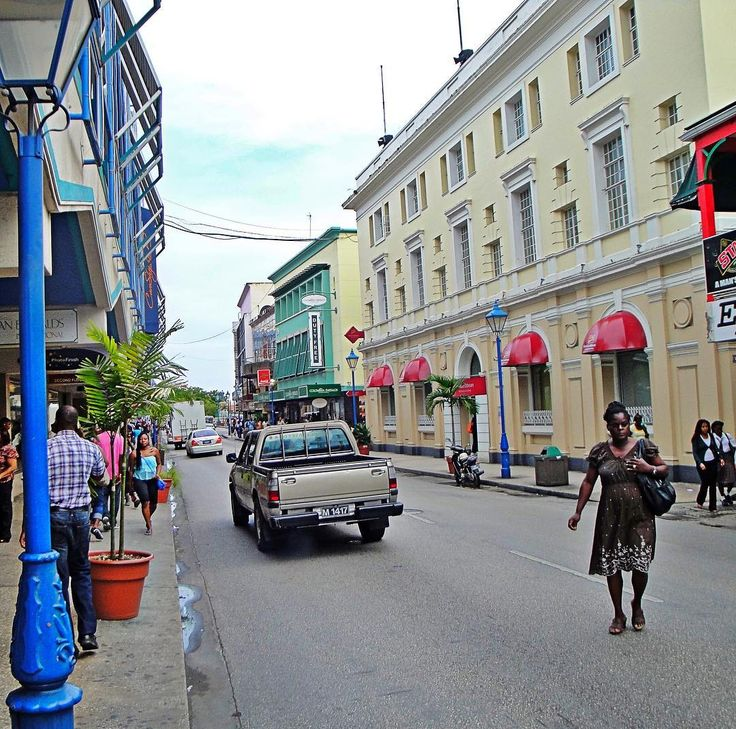 In Bridgetown Barbados