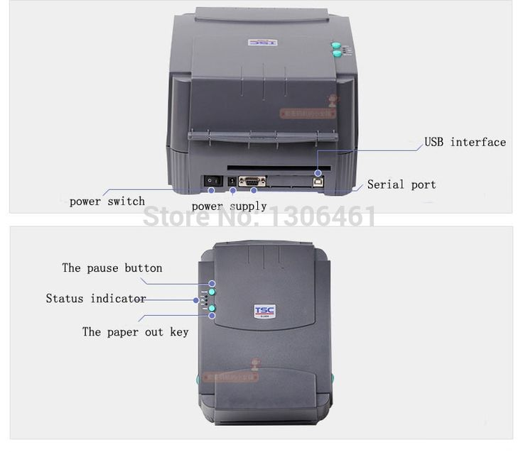 3045.60$  Know more  - High Speed USB port label printer barcode printer Thermal Sticker Printer