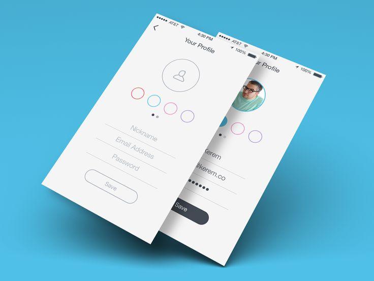 Your Profile iOS 7