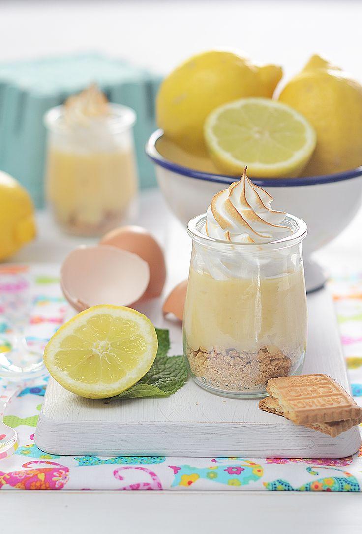 ¡Qué cosa tan dulce!: Tarta de limón en vasitos