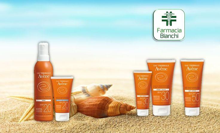 I Solari pelli sensibili di #Avène, grazie al complesso fotoprotettore SunSitive® protection, coniugano efficacia e piacevolezza. Farmacia Dott. ssa Alessandra Bianchi