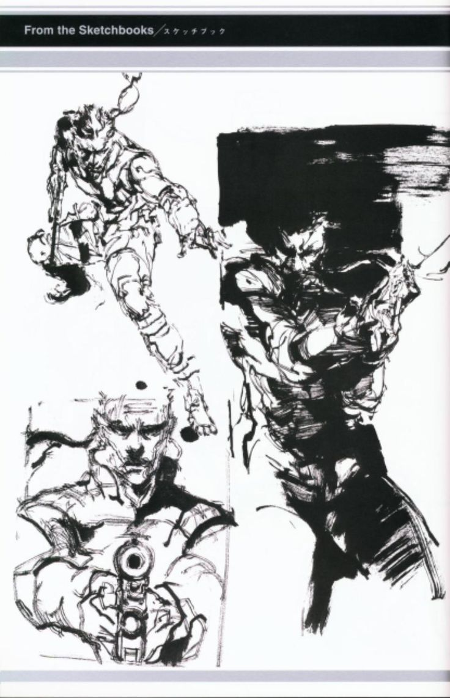 Solid snake concept art images for Metal concept
