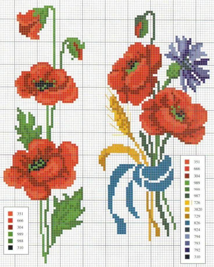 Oltre 25 fantastiche idee su fiori a punto croce su pinterest for Piani di coperta coperti gratuiti