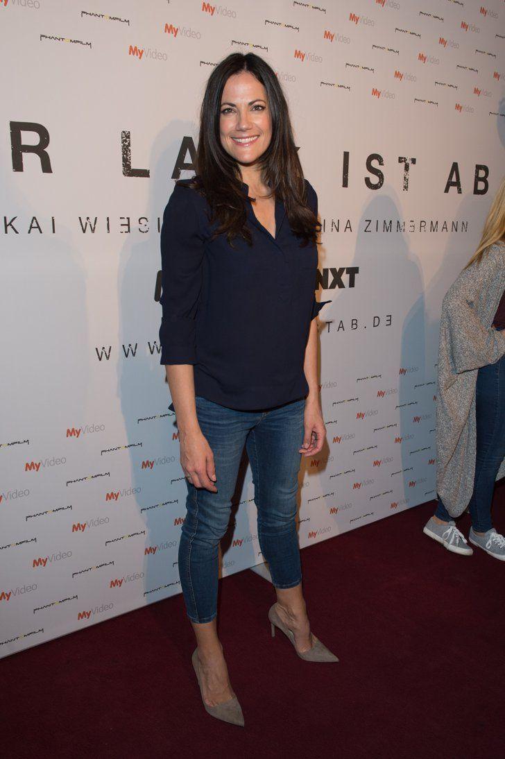 Pin for Later: Best Dressed: Die schönsten Looks der ganzen Woche Bettina Zimmermann