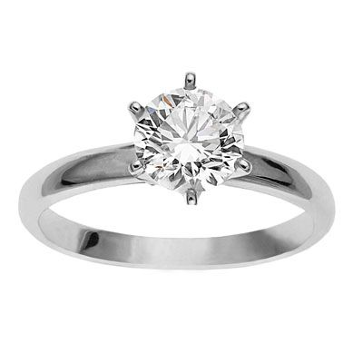TEMELLI 6 CLAW CROWN ENGAGEMENT RING R81701, Temelli Jewellery