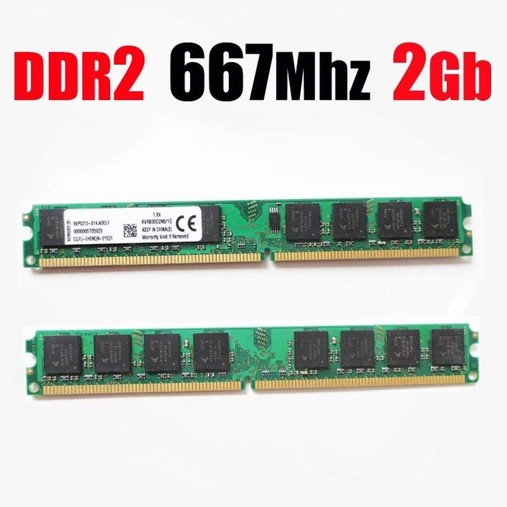 [Visit to Buy] RAM ddr2 667 2Gb / 667Mhz PC2 5300 PC2-5300 DIMM RAM ddr2 2 gb 2G 4gb memory for AMD for all desktop - lifetime warranty #Advertisement