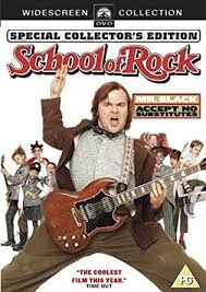 Risultati immagini per school of rock dvd