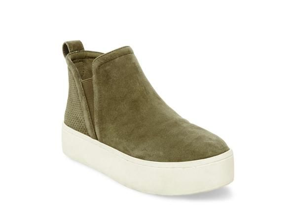 Olive is a fun color and the suede is a