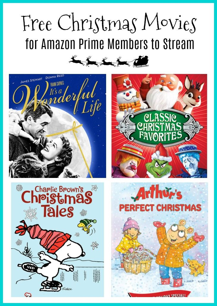 50+ FREE Christmas Movies to Stream on Amazon Prime in