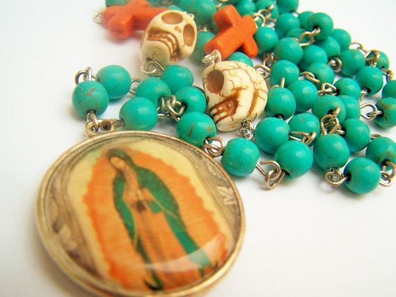 Hey, I found this really awesome Etsy listing at https://www.etsy.com/listing/161367299/mary-necklace-virgen-de-guadalupe-virgin