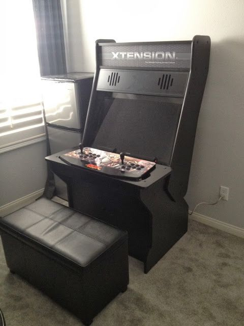 Sit Down Xtension Arcade Cabinet Plans – Cabinets Matttroy