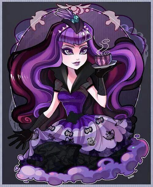 Raven Queen Ever After High Fan art