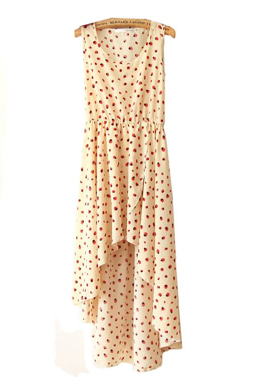 sweetness in dress formSummer Dresses, Irregular Dresses, Beige Prints, Dresses Fashion, Cutest Dresses, Asymetrical Dresses, Summer Pretty, Sleeveless Irregular, Dresses 3