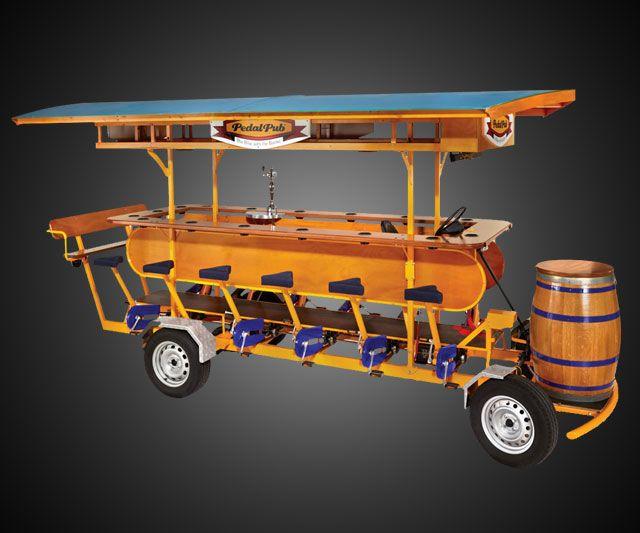 how to build a pedal pub