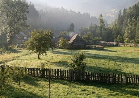 Hungary - House in the country
