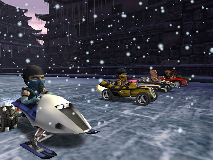 Remember when Mortal Kombat made a Mario kart clone called Motor Kombat? http://ift.tt/2wqrran