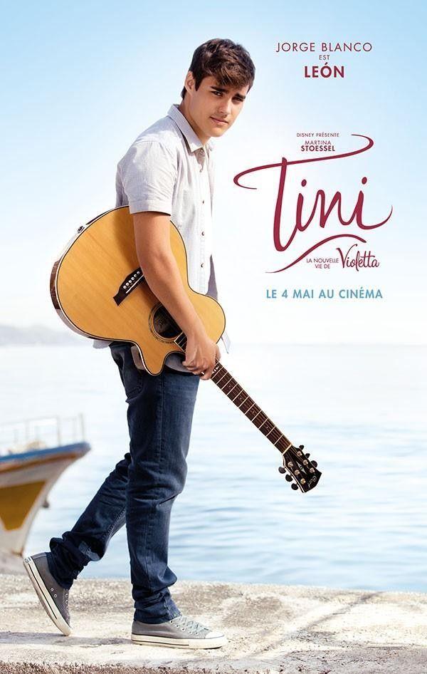 TINI LA NOUVELLE VIE DE #Violetta Affiche avec Jorge Blanco en Leon le petit ami de #Violetta