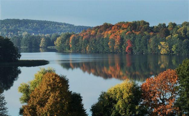 Herbstlandschaft in Masuren/ Poland