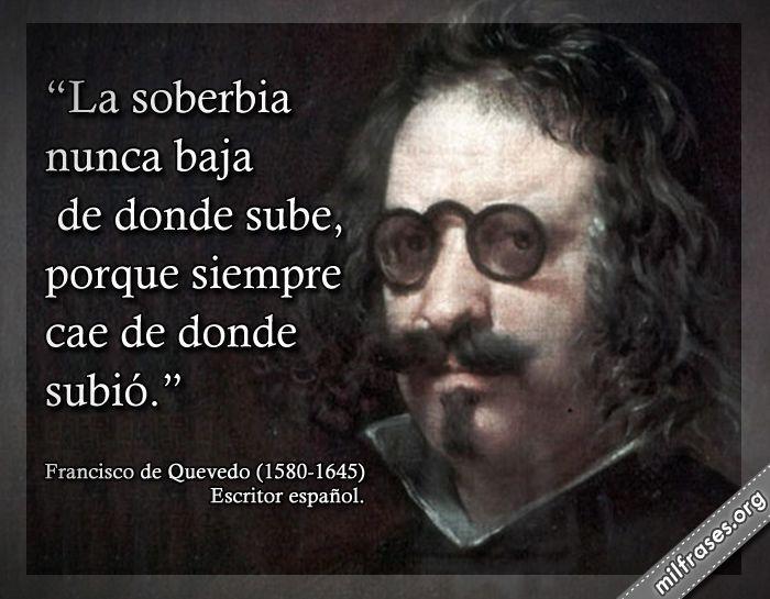 Francisco de Quevedo, escritor español.
