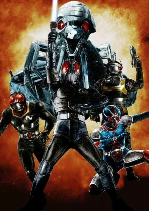 Kamen Rider - Black, Rx, Biorider e Roborider