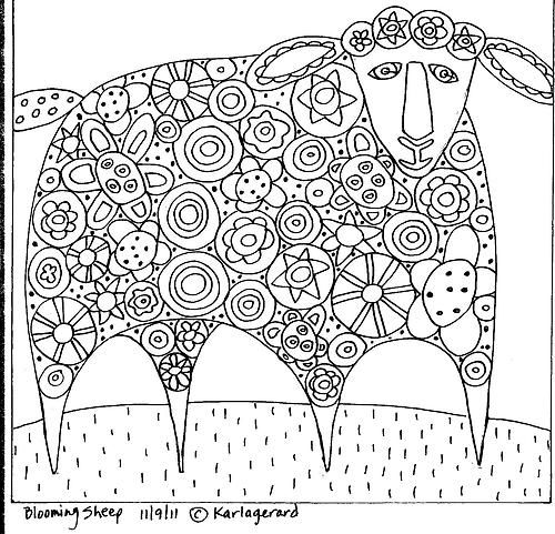 Paper Patterns to purchase by Karla Gerard, can be used for rughooking