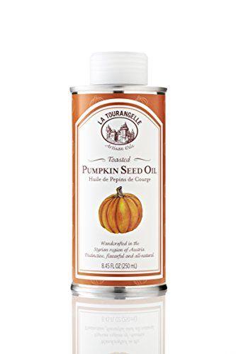 Great La Tourangelle Toasted Pumpkin Seed Oil - Rich Nutty Earthy Flavors - 8.45 Fl. Oz.
