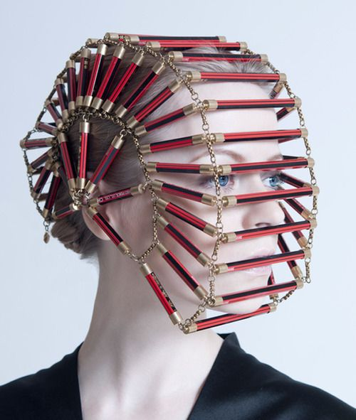 odd but creative mask by Grace Gunawan 2012