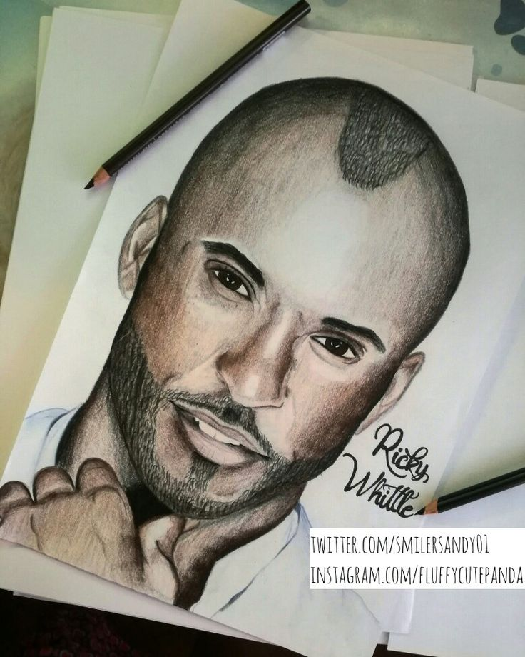 Ricky Whittle  #rickywhittle #drawing #portrait #fanart #art #artist #coloredpencils #prismacolor
