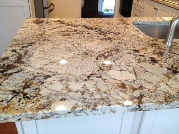 Sensa Silver Silk Granite Kitchen Countertop