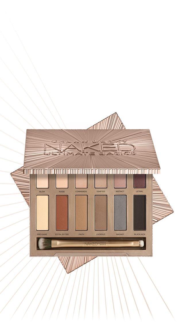 AVAILABLE SEPTEMBER 18, 2016!  Naked Ultimate Basics Eyeshadow Palette | Urban Decay | All Matte | All Naked | Go Commando With 12 Completely NEW Naked Shades