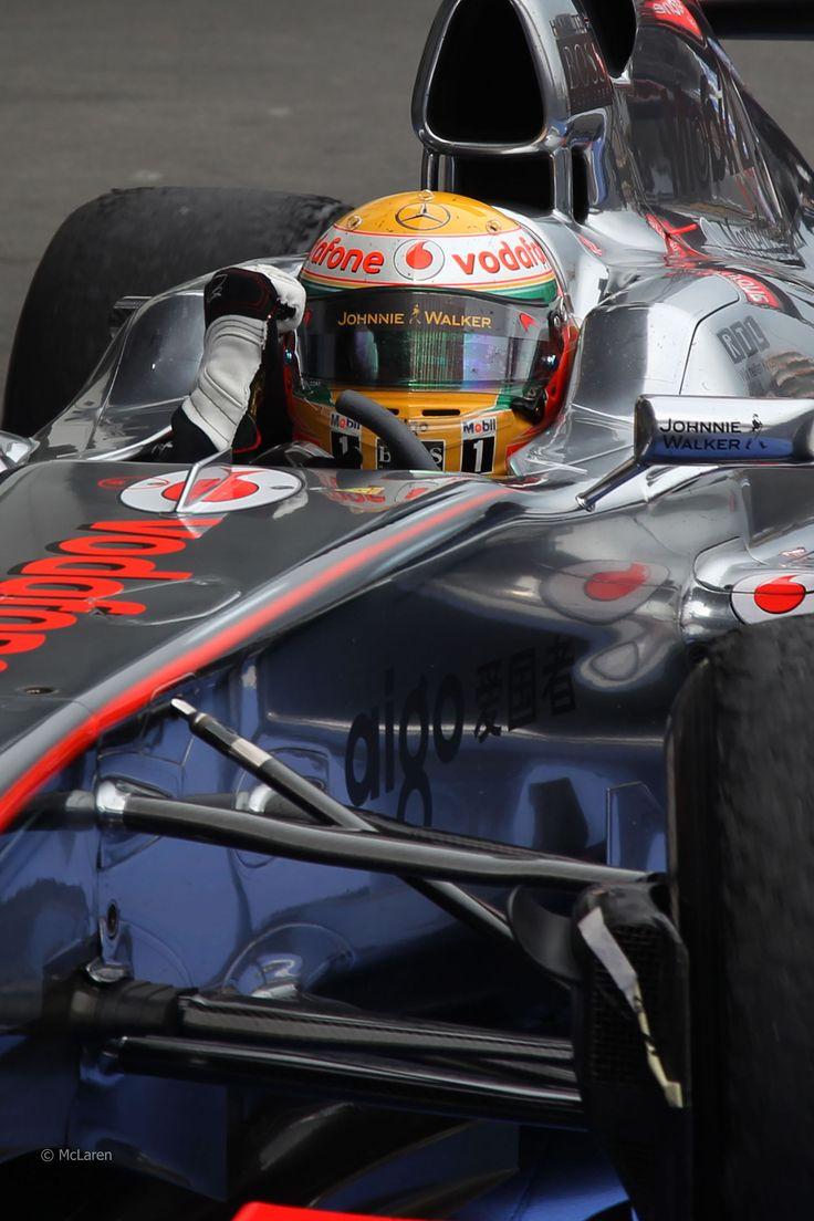 Lewis Hamilton, McLaren, Nurburgring, 2011