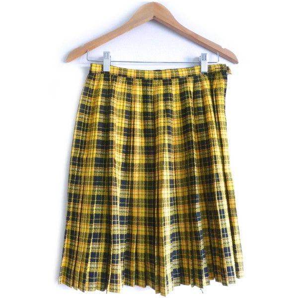 Best 25  Yellow plaid skirt ideas on Pinterest | ModCloth, Mustard ...