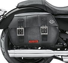 Alforjes - Sportster 1200 Custom 2016   XL1200C   Harley-Davidson Brasil