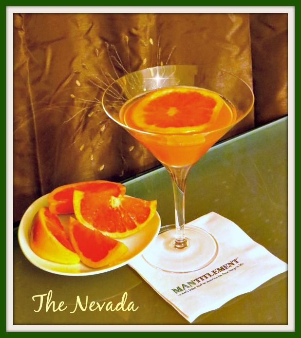The Nevada Grapefruit Martini, even if you don't love grapefruit, you'll love this cocktail!