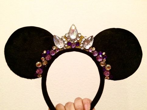 These are quite possibly the most beautiful Minnie Ears I've ever seen. :')