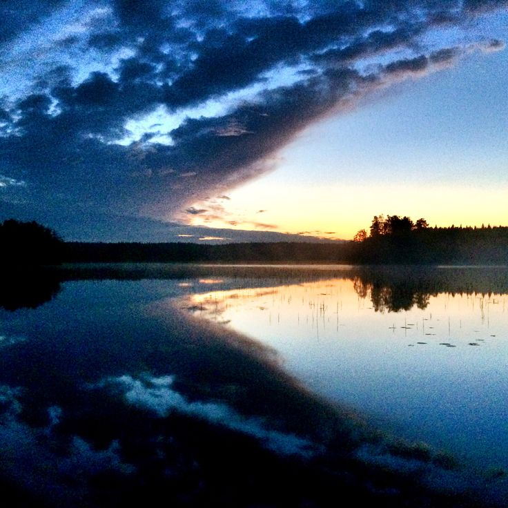 Just another summernight in Finland.