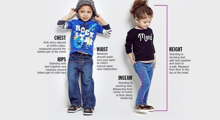 Toddler Measuring Guide