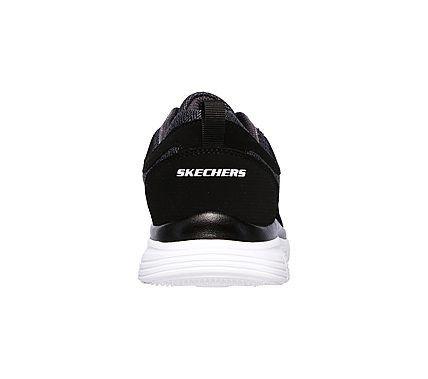 Skechers Men's Burns Agoura Memory Foam Training Shoes (Black/White)