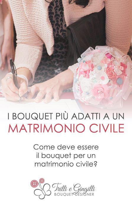 Come dev'essere il bouquet per un matrimonio civile? Scoprilo qui: http://www.trilliegingilli.com/bouquet-matrimonio-civile/