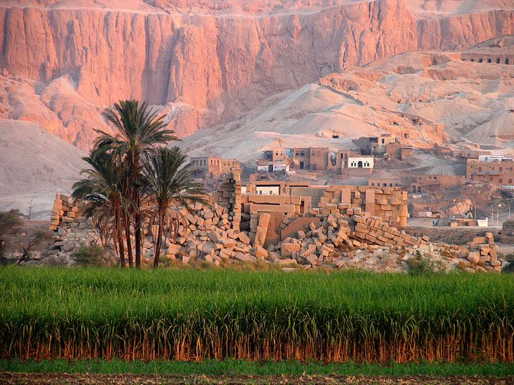 Sunrise, Valley of the Kings, Luxor, Egypt  Valley of the Kings by parallel-pam