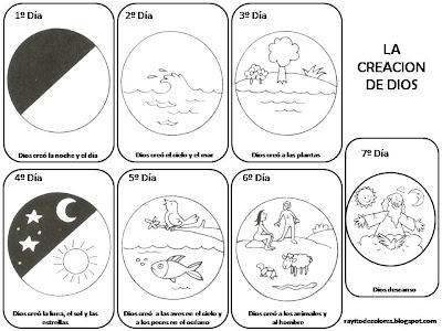 Rayito de Colores: La creación de Dios para niños