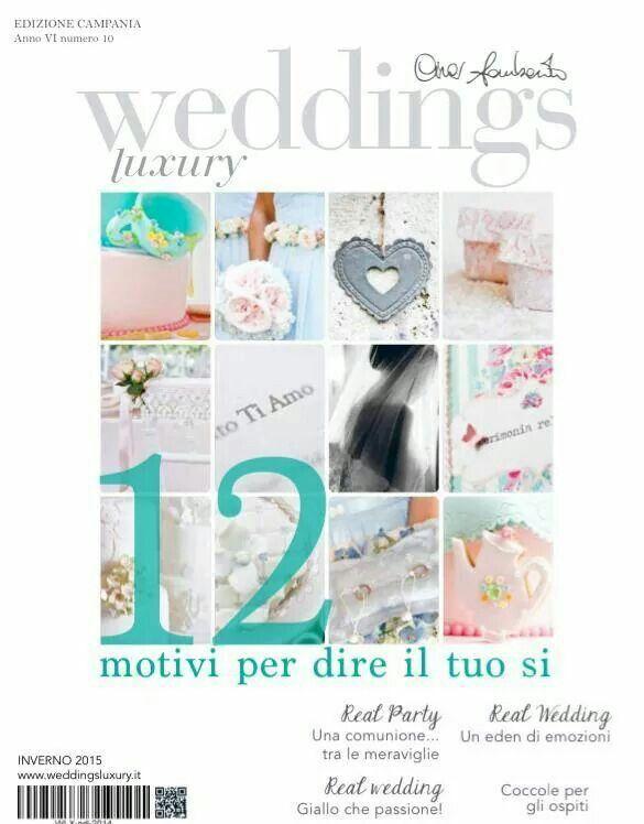 La copertina del nuovo weddings luxury